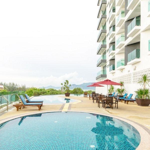 Adya Kuah Hotel Pool View