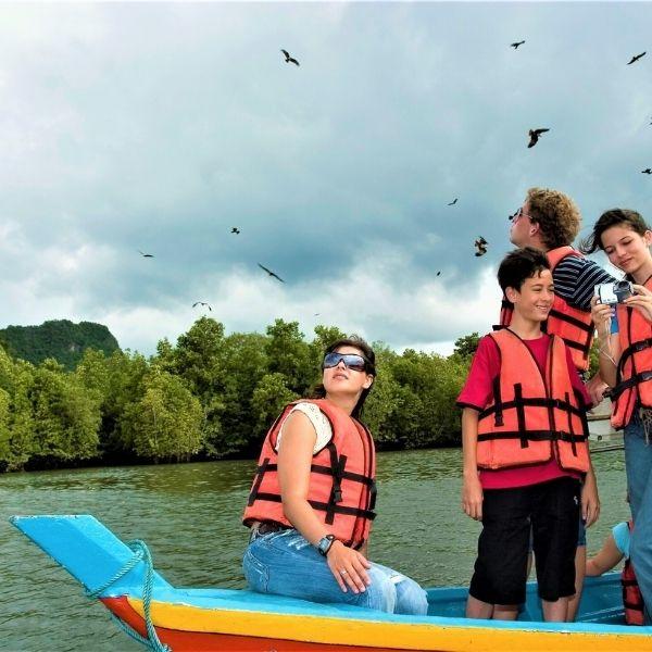 Island Hopping Langkawi.